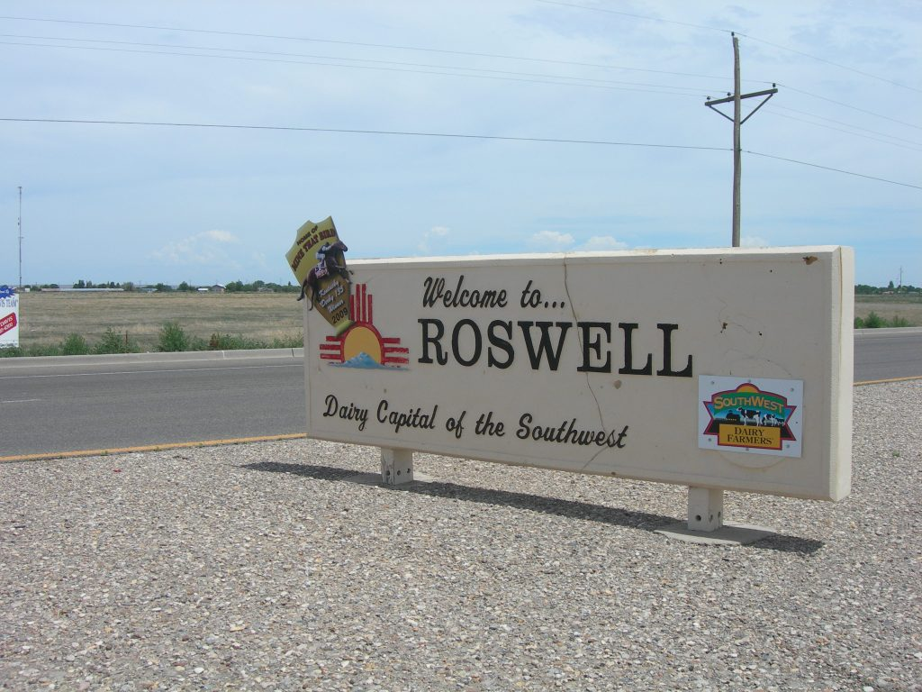 As well as its alien tourism, Roswell is known for its dairy production.Photo by Jimmy Emerson