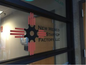 Home office for New Mexico Start up Factories, a technology ventures facility, created by John Chavez. He has been the president for six years now.