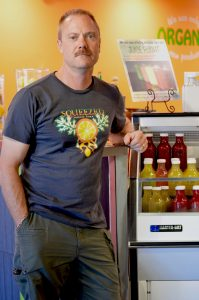 Ryan Fellows, owner of Squeezed Juice Bar in Albuquerque