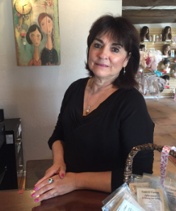 Sylvia Bencomo, a breast cancer survivor, created of Angel Wellness Boutique after her daughter also was diagnosed with breast cancer. Photo by Alisha Barber / NM News Port