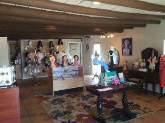 Sylvia Bencomo wants customers at Angel Wellness Boutique to feel as if they are walking into their own house. Photo by Alisha Barber / NM News Port