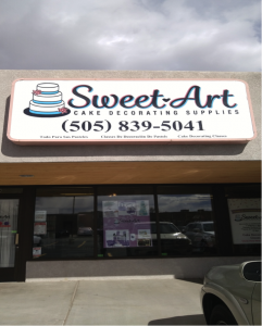 Sweet Art Cake Decorating Supplies store. 3296 Coors Blvd NW, Albuquerque, NM