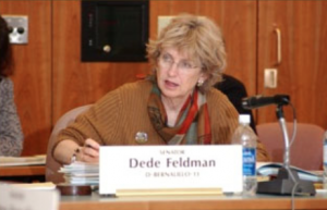 Dede Feldman worked on the Urban County Charter Commission. Now she sits on a committee created by the Bernalillo County Commission. Photo courtesy of dedefeldman.com