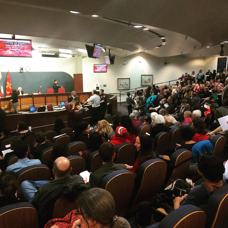 ABQ City Council Meeting 2/22/17