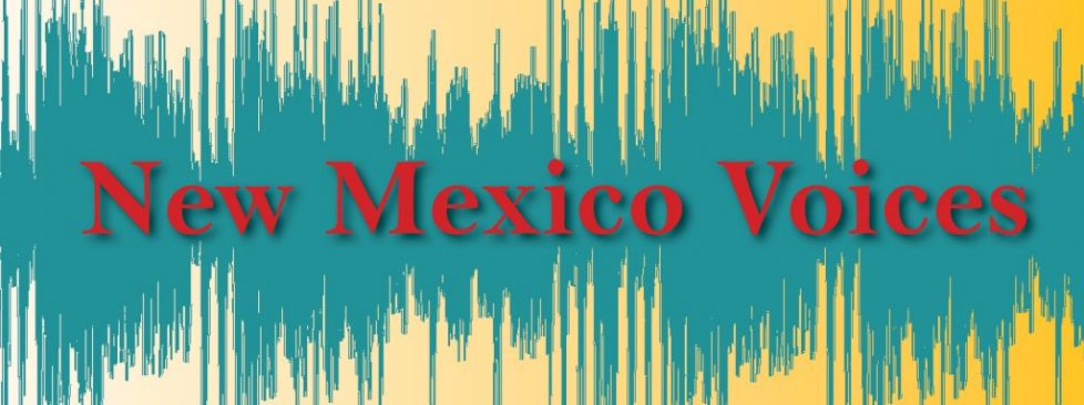 NM Voices Logo (red text)