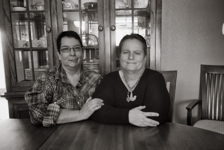 Glenda Chavez and Linda Griego in Albuquerque