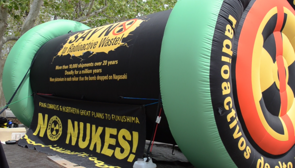 Nuclear Activists Call Attention To Nms Legacy As National
