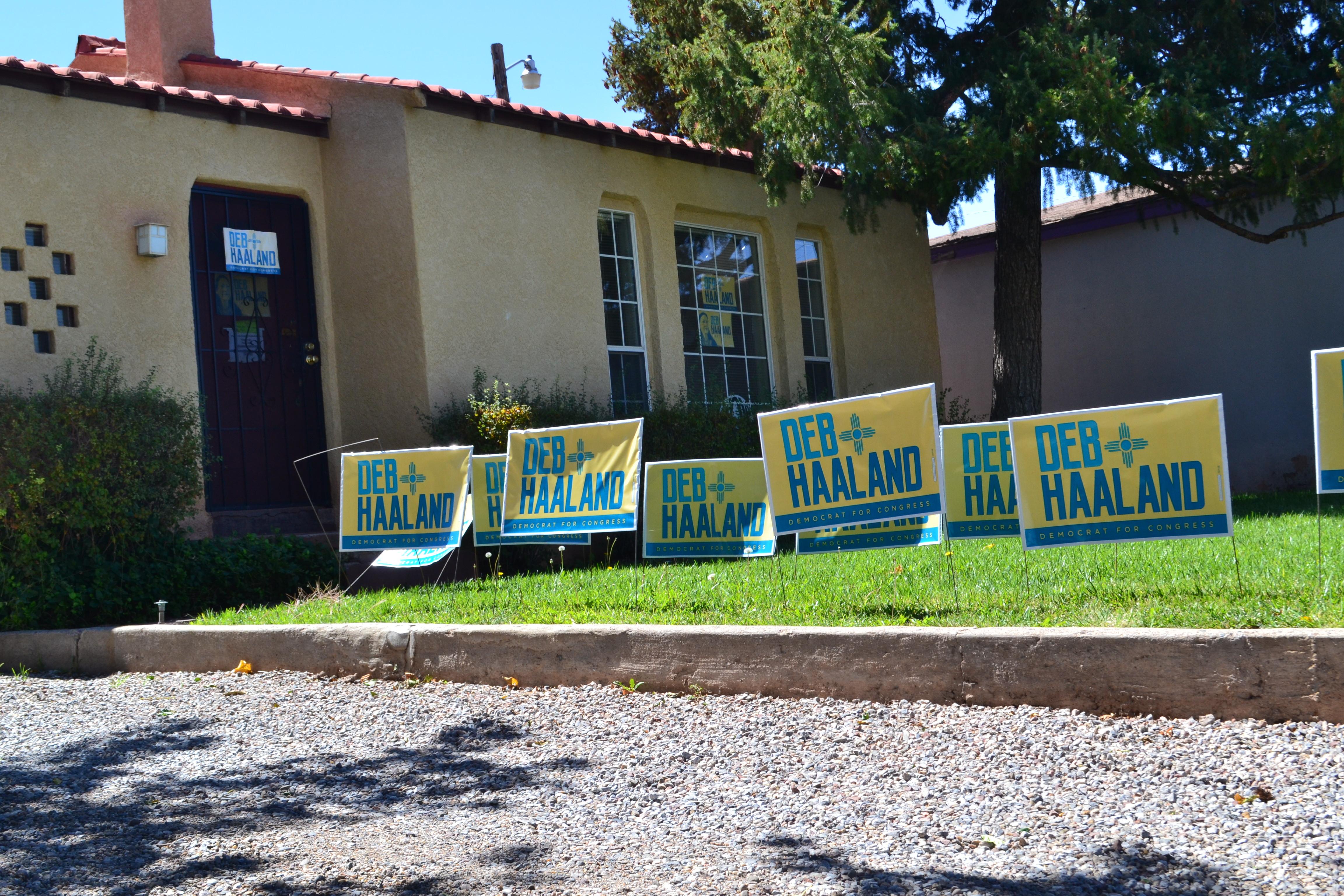 Debra Haaland's campaign headquarters